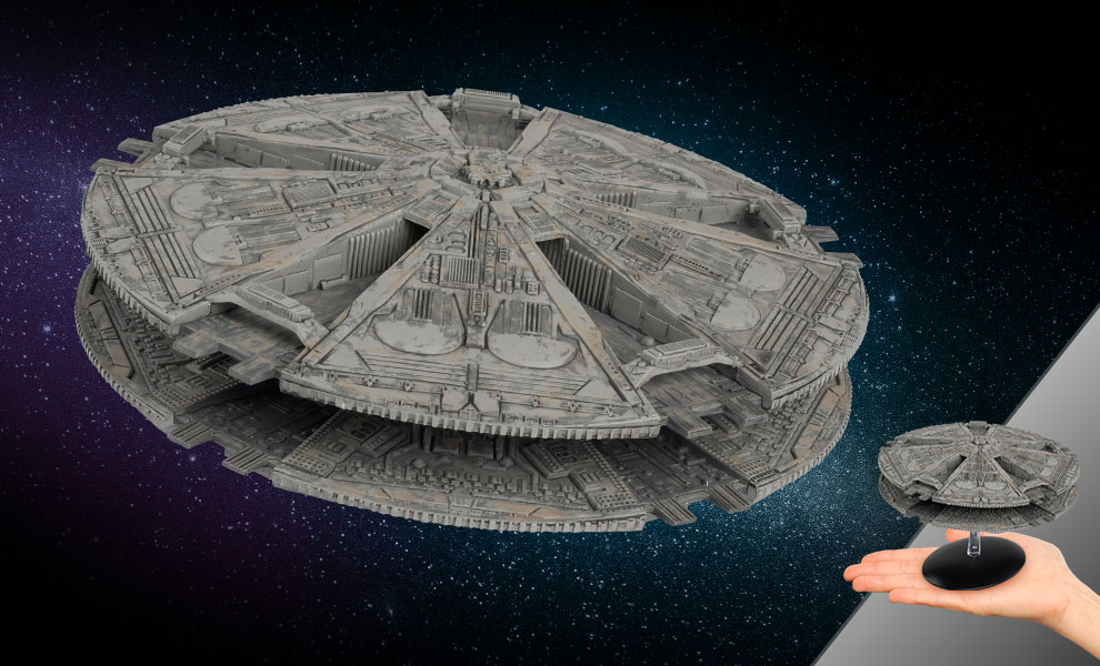 Gallery Feature Image of Cylon Base Ship Model - Click to open image gallery