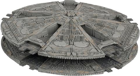 Eaglemoss Cylon Base Ship Model