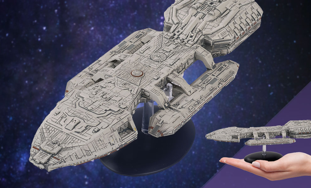 Gallery Feature Image of Galactica Ship (1978 Series) Model - Click to open image gallery