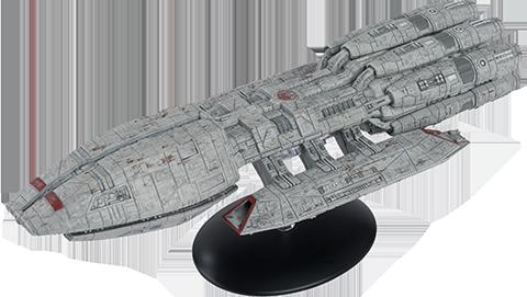 Eaglemoss Pegasus Ship Model