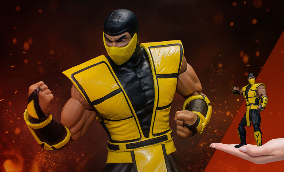 Gallery Feature Image of Scorpion Collectible Figure - Click to open image gallery