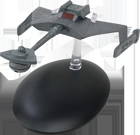 Eaglemoss Klingon K't'inga Class Battlecruiser Model