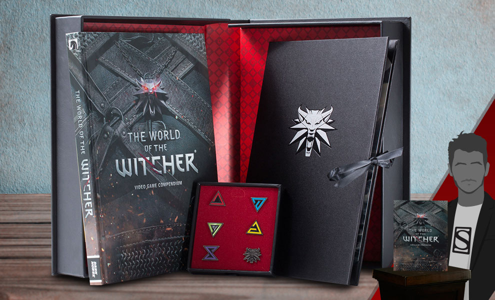 Gallery Feature Image of The World of The Witcher Book - Click to open image gallery
