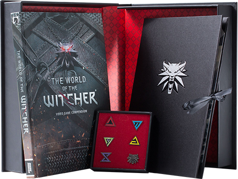 Dark Horse Comics The World of The Witcher Book