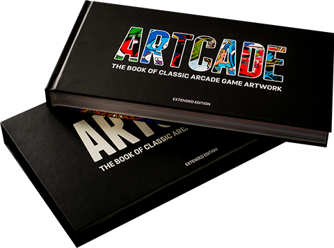 New Wave Toys LLC ARTCADE - The Book of Classic Arcade Game Art Book