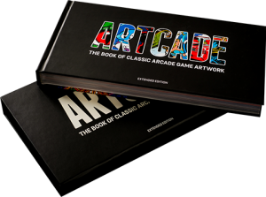 ARTCADE - The Book of Classic Arcade Game Art Book