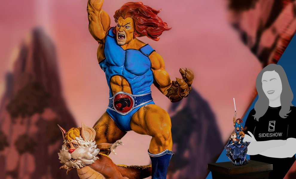 Gallery Feature Image of Lion-O & Snarf 1:10 Scale Statue - Click to open image gallery