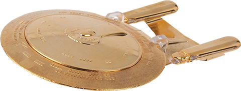 Eaglemoss U.S.S. Enterprise NCC-1707-D (Gold Edition) Model