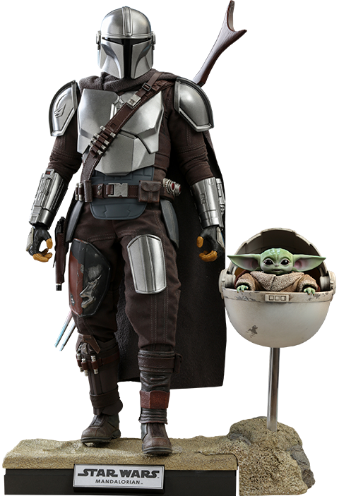 Hot Toys The Mandalorian and The Child (Deluxe) Collectible Set