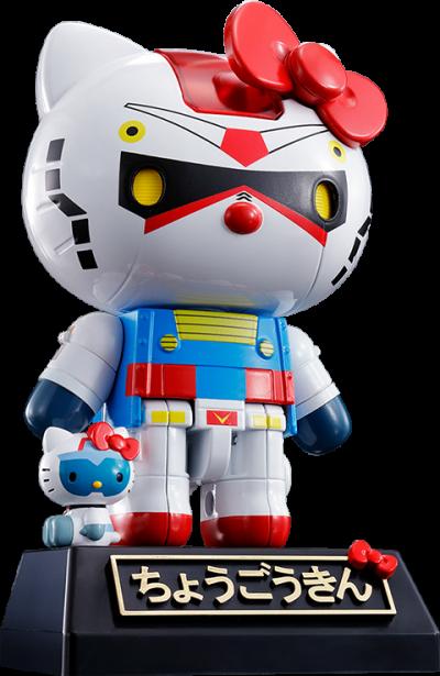 Gundam x Hello Kitty Collectible Figure