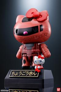 Gallery Image of Gundam Char's Zaku II x Hello Kitty Collectible Figure