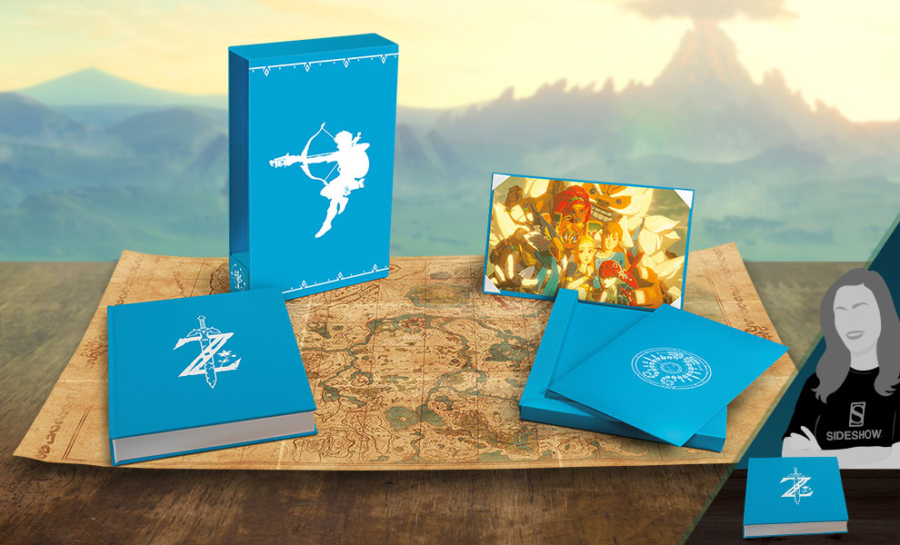 Gallery Feature Image of The Legend of Zelda: Breath of the Wild - Creating a Champion (Hero's Edition) Book - Click to open image gallery