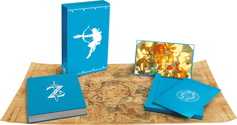 Dark Horse Comics The Legend of Zelda: Breath of the Wild - Creating a Champion (Hero's Edition) Book