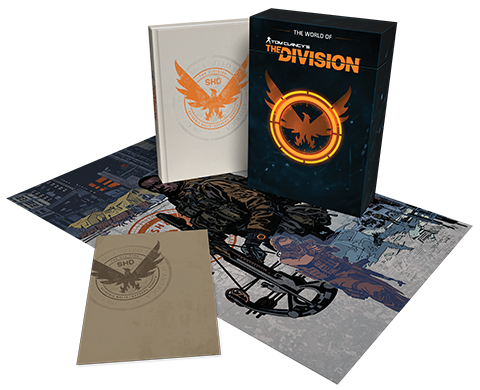 Dark Horse Comics The World of Tom Clancy's The Division (Limited Edition) Book