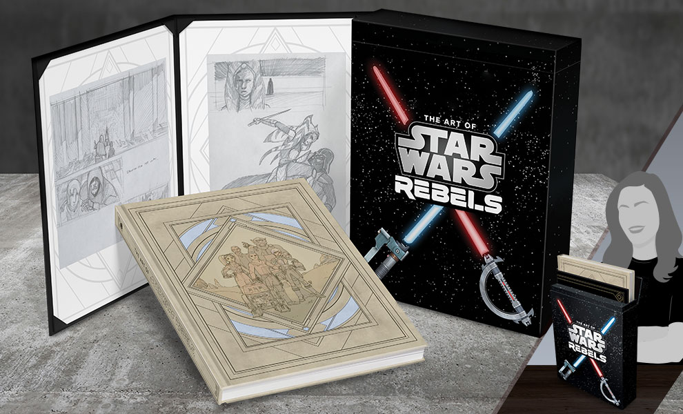 Gallery Feature Image of The Art of Star Wars Rebels (Limited Edition) Book - Click to open image gallery