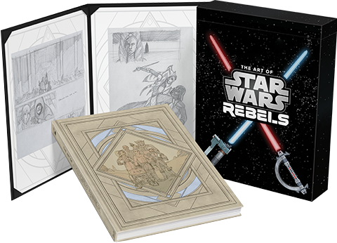 Dark Horse Comics The Art of Star Wars Rebels (Limited Edition) Book