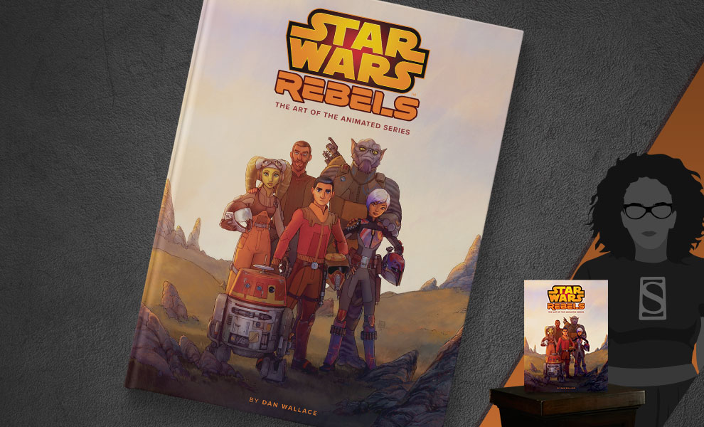 Gallery Feature Image of The Art of Star Wars Rebels Book - Click to open image gallery