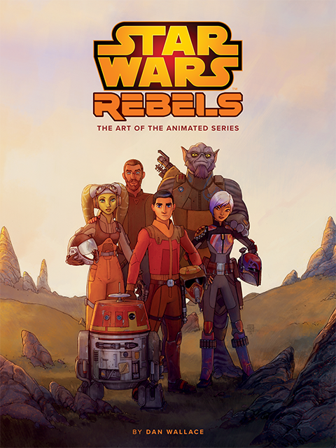 Dark Horse Comics The Art of Star Wars Rebels Book