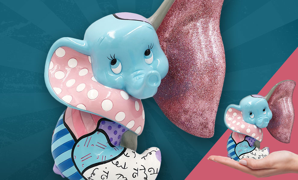 Gallery Feature Image of Baby Dumbo Figurine - Click to open image gallery
