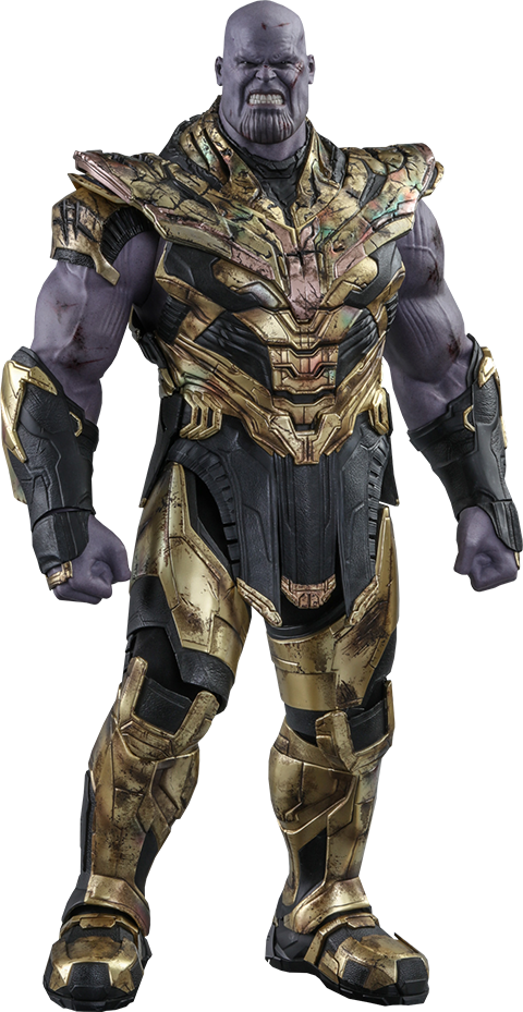Hot Toys Thanos (Battle Damaged Version) Sixth Scale Figure