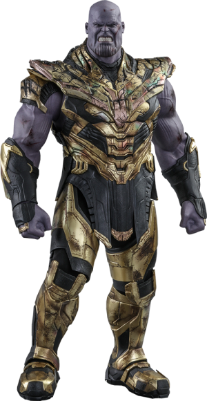 Thanos (Battle Damaged Version) Sixth Scale Figure
