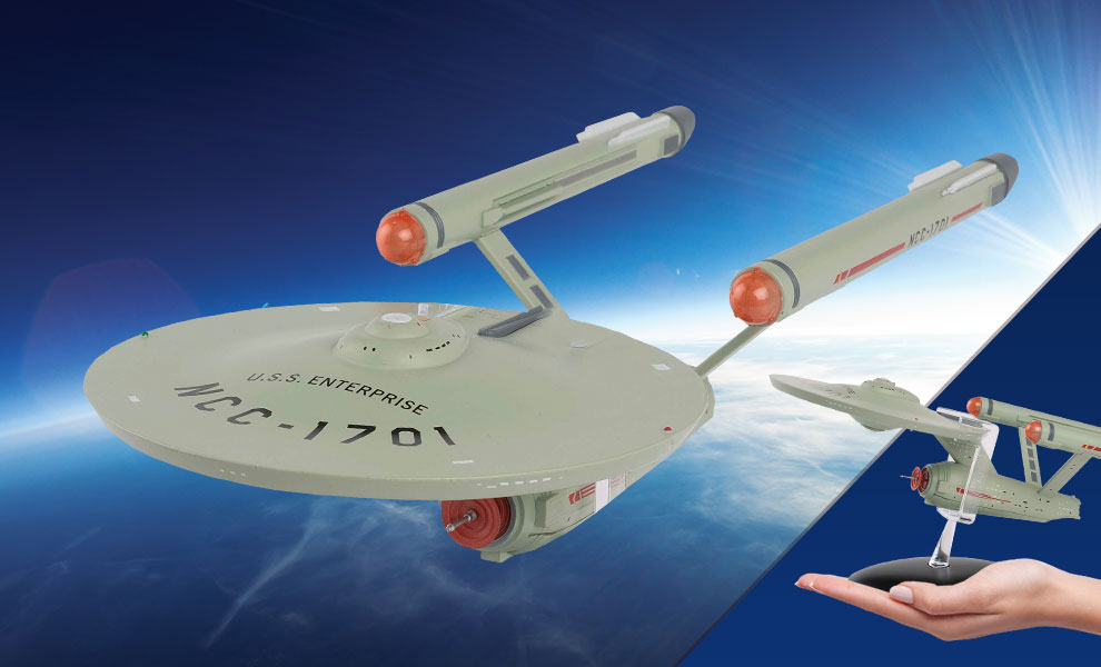 Gallery Feature Image of U.S.S. Enterprise NCC-1701 Model - Click to open image gallery