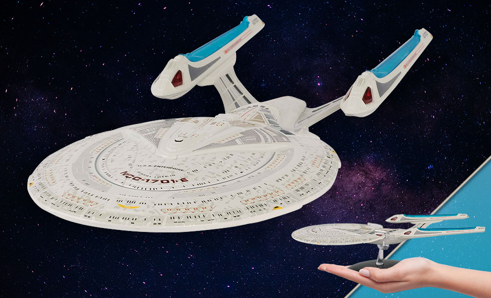 Gallery Feature Image of U.S.S. Enterprise NCC-1701-E Model - Click to open image gallery