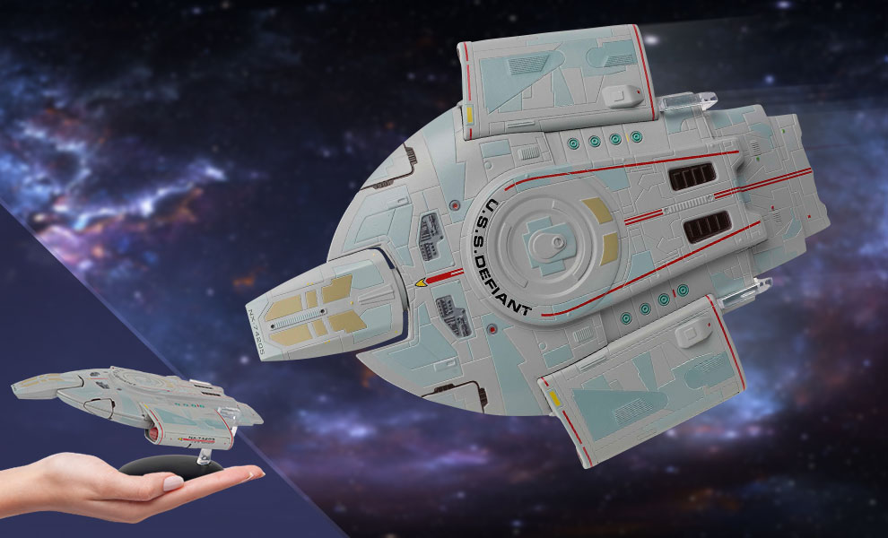 Gallery Feature Image of U.S.S. Defiant Model - Click to open image gallery