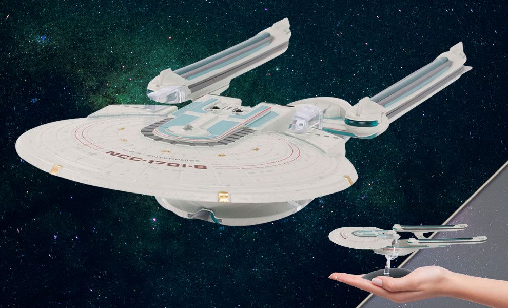 Gallery Feature Image of U.S.S. Enterprise NCC-1701-B Model - Click to open image gallery