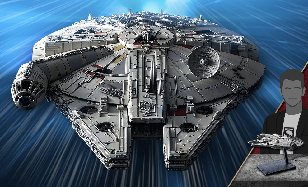 Gallery Feature Image of Millennium Falcon (Rise of Skywalker Version) Model Kit - Click to open image gallery