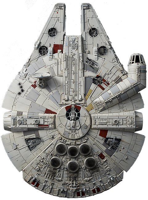 Bandai Millennium Falcon (Rise of Skywalker Version) Model Kit