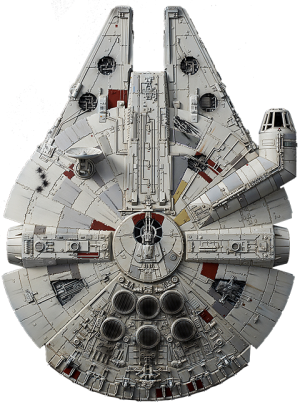 Millennium Falcon (Rise of Skywalker Version) Model Kit