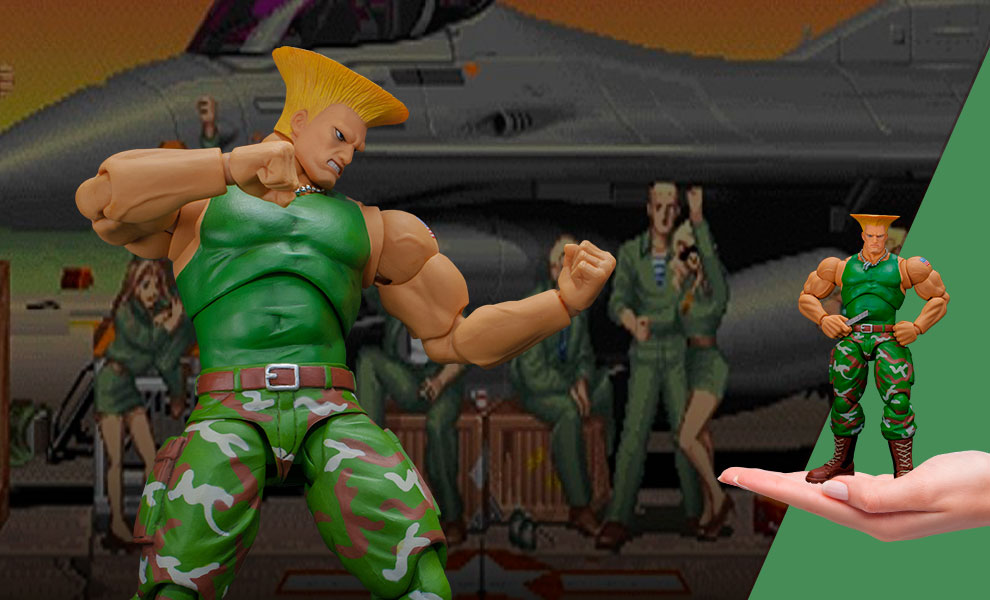 Gallery Feature Image of Guile Action Figure - Click to open image gallery