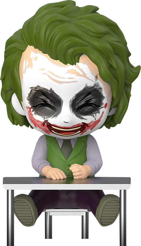 Hot Toys Joker (Laughing Version) Collectible Figure