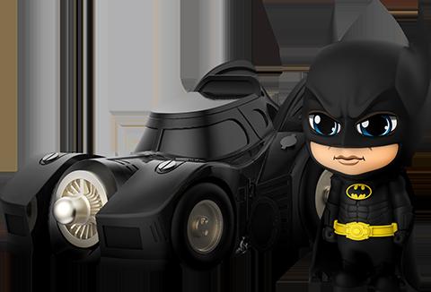 Hot Toys Batman with Batmobile Collectible Set
