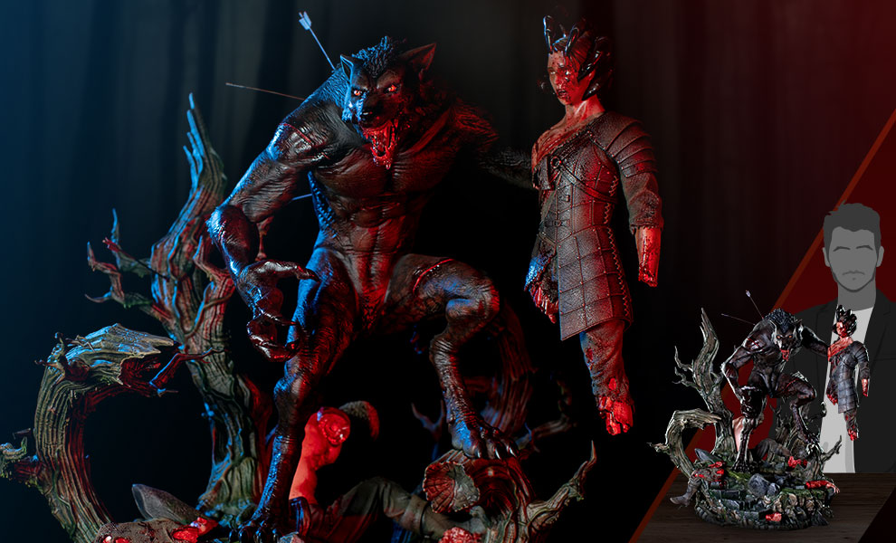 Gallery Feature Image of Lycan Statue - Click to open image gallery
