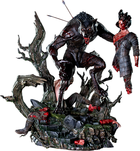 Dream Figures Lycan Statue