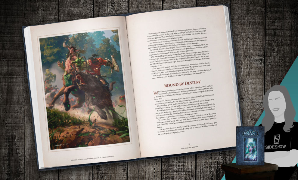 Gallery Feature Image of World of Warcraft Chronicle Volume 3 Book - Click to open image gallery
