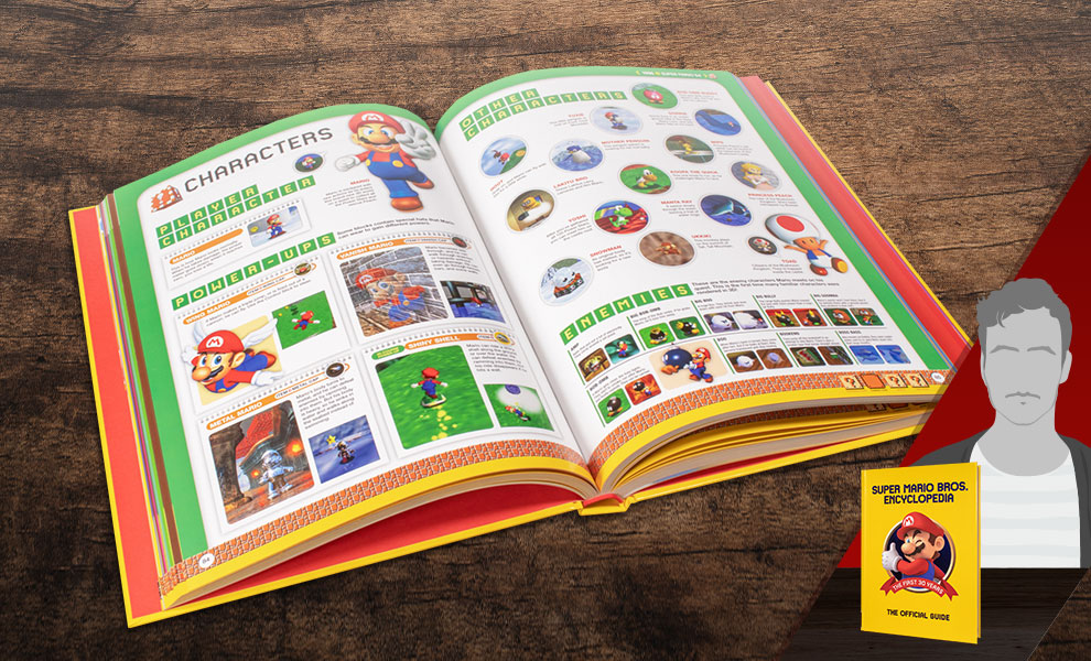 Gallery Feature Image of Super Mario Encyclopedia: The Official Guide to the First 30 Years Book - Click to open image gallery