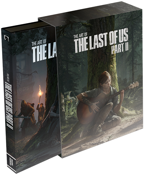 Dark Horse Comics The Art of The Last of Us Part II (Deluxe Edition) Book