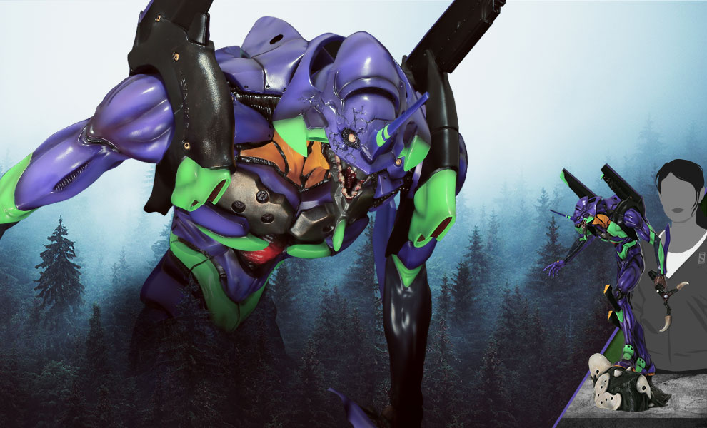Gallery Feature Image of Evangelion Unit-01 Shinobu (Matsumura Version) Statue - Click to open image gallery