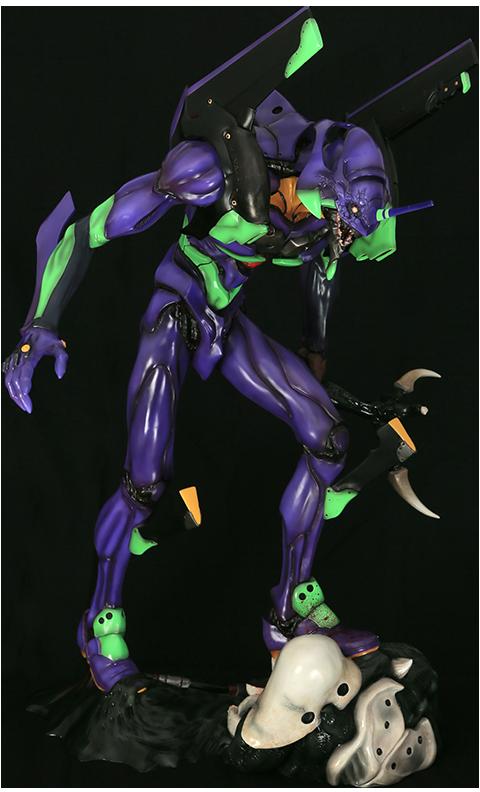 Gomora Kick Evangelion Unit-01 Shinobu (Matsumura Version) Statue