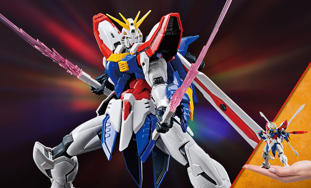 Gallery Feature Image of God Gundam Model - Click to open image gallery