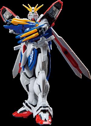 God Gundam Model