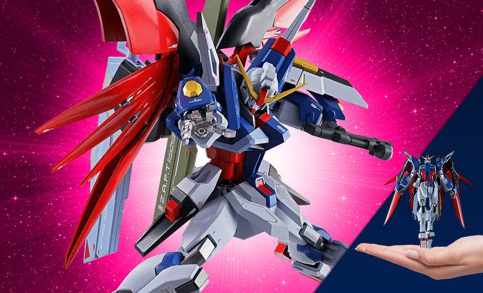 Gallery Feature Image of Destiny Gundam Collectible Figure - Click to open image gallery