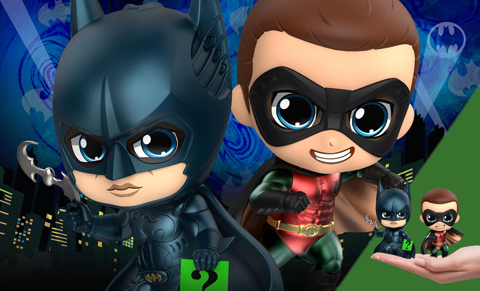 Gallery Feature Image of Batman & Robin Collectible Set - Click to open image gallery