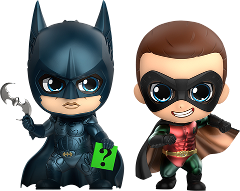 Hot Toys Batman & Robin Collectible Set