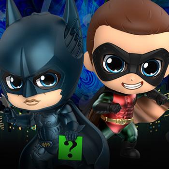 Batman & Robin Collectible Set