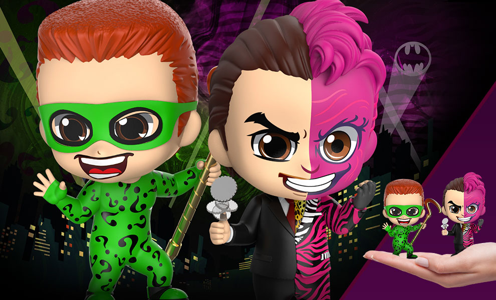 Gallery Feature Image of The Riddler & Two-Face Collectible Set - Click to open image gallery