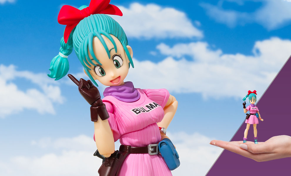 Gallery Feature Image of Bulma (Adventure Begins) Collectible Figure - Click to open image gallery